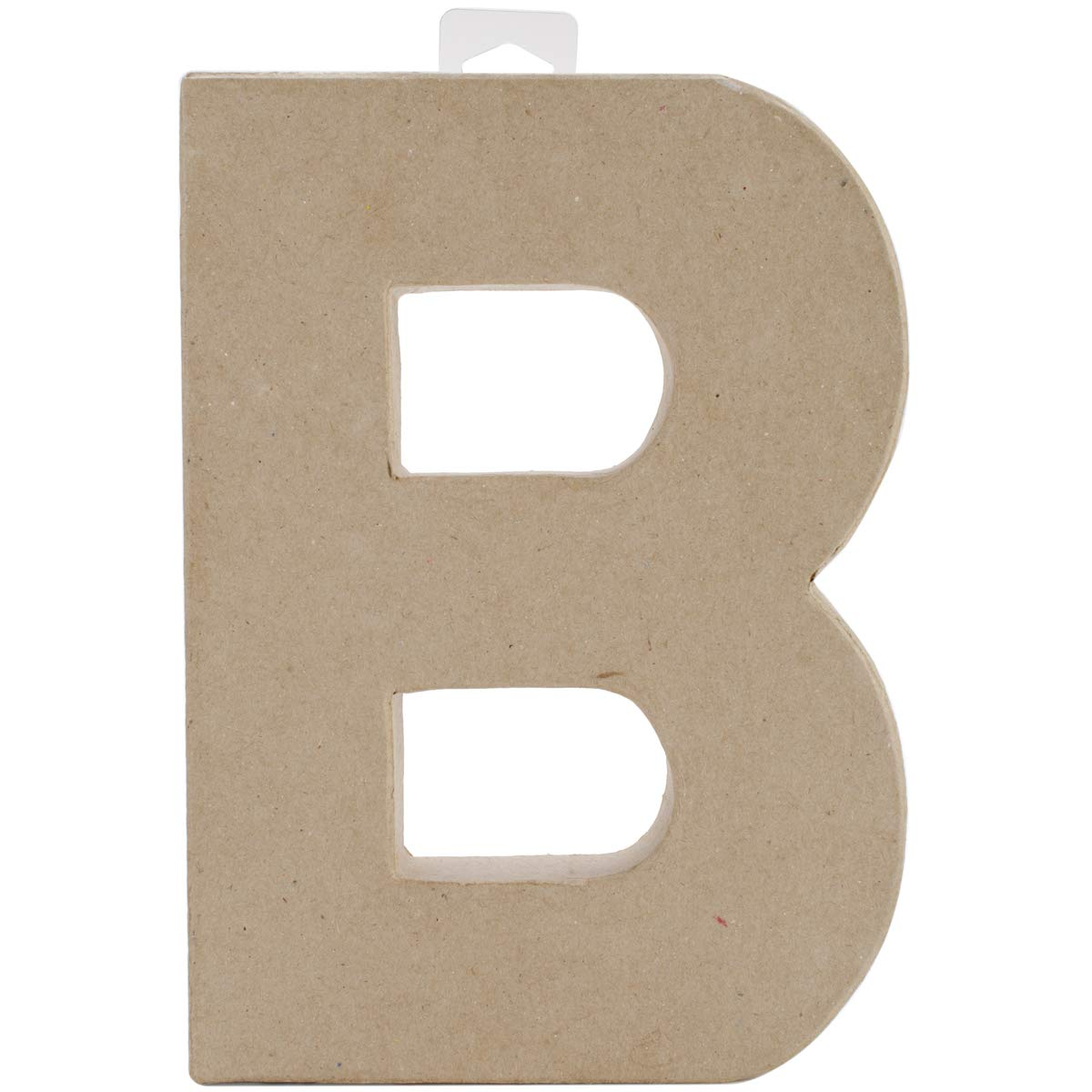 Darice Paper Mache Letter B 8 X 5.5 Inches (8 Pack)