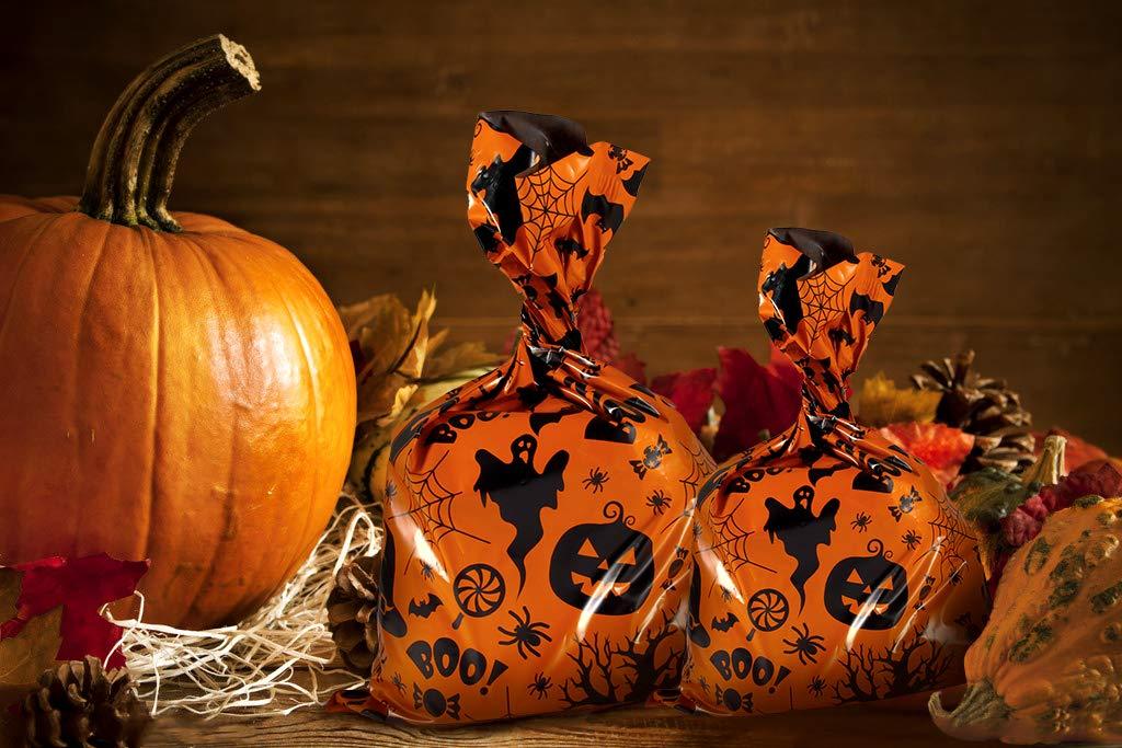 10x13 100-Pack Halloween Poly Mailers Ohuhu