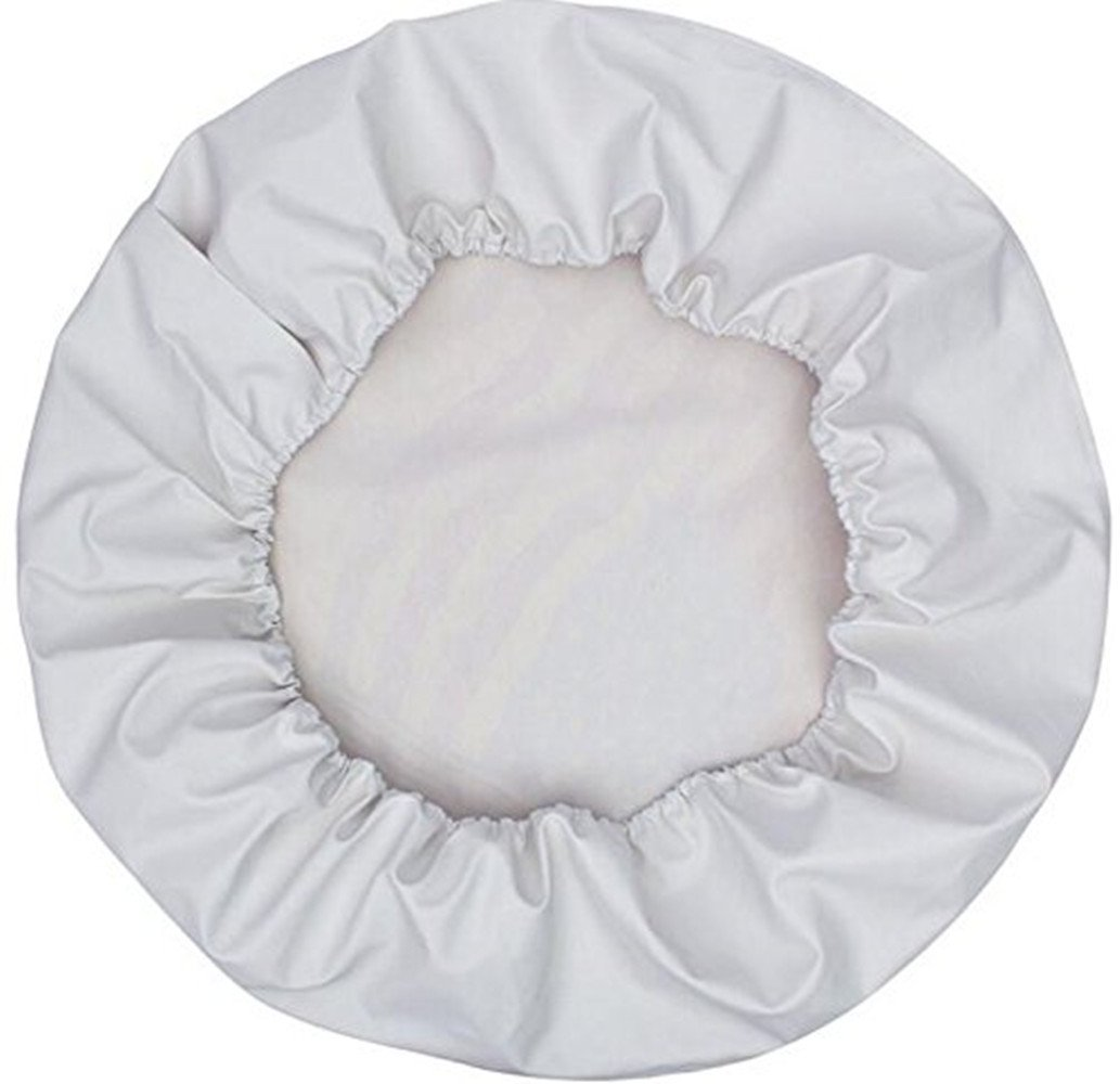 14 for Diameter 23-27 HEALiNK Spare Tire Covers 14 inch PVC Leather White Wheel Tire Cover Rim Protector for RV Jeep Toyota RAV4 Honda CRV All Cars