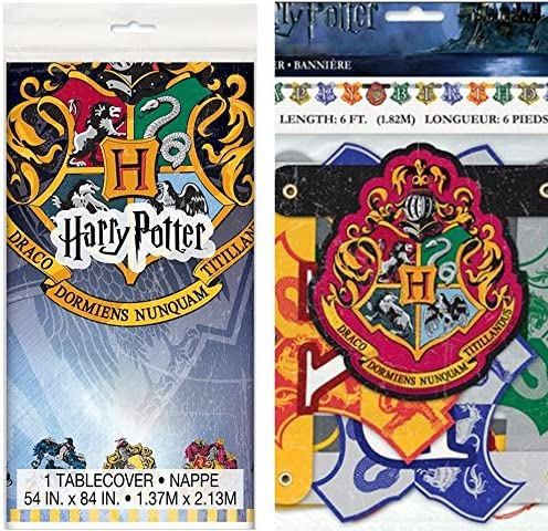 Amazon.com: Wizard – Harry Potter y pancarta de fiesta ...