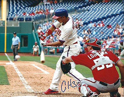 Autographed Cesar Hernandez 8x10 Philadelphia Phillies Photo
