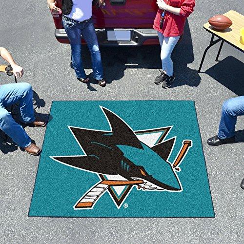 San Jose Sharks Tailgate Area Rug 5' x 6' ()
