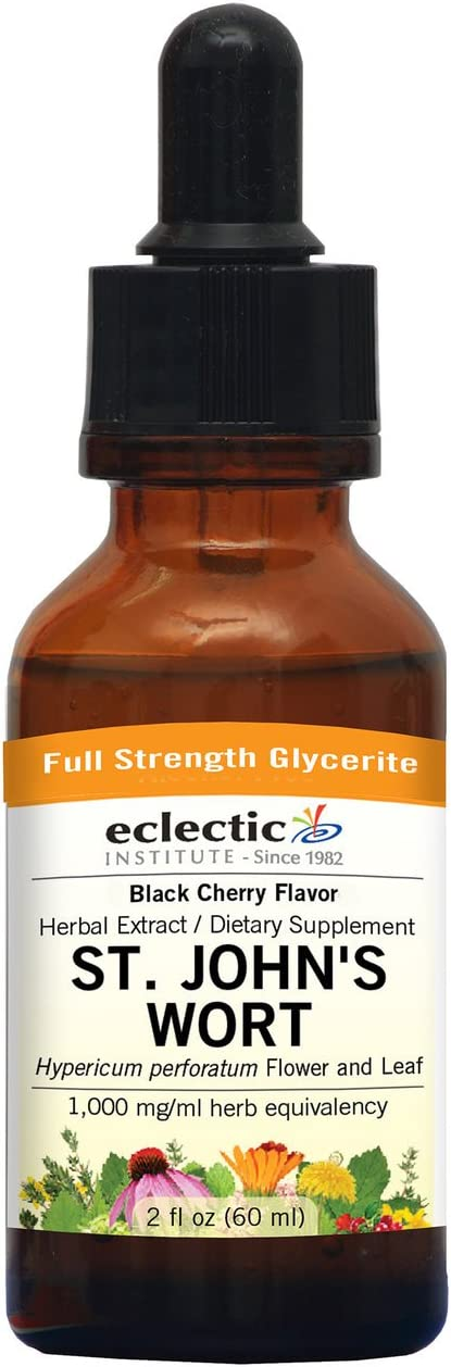 Eclectic St. John s Wort Black Cherry G, Blue, 2 Fluid Ounce
