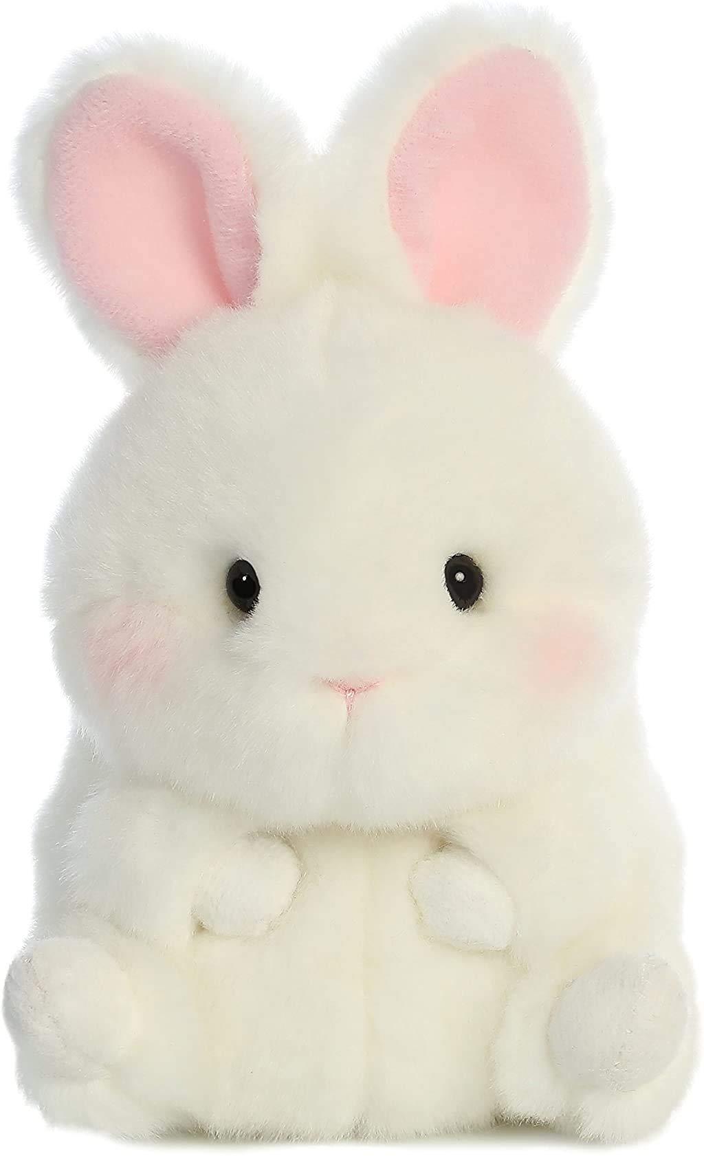 "Aurora - Rolly Pet - 5"" Bunbun Bunny, White"