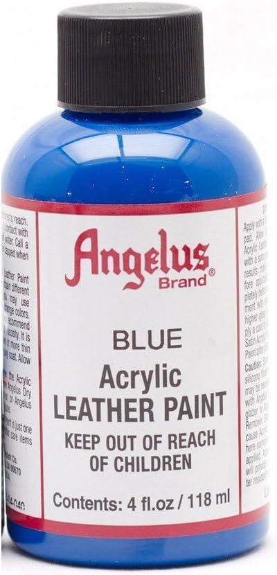 Angelus Acrylic Paints 4oz Blue