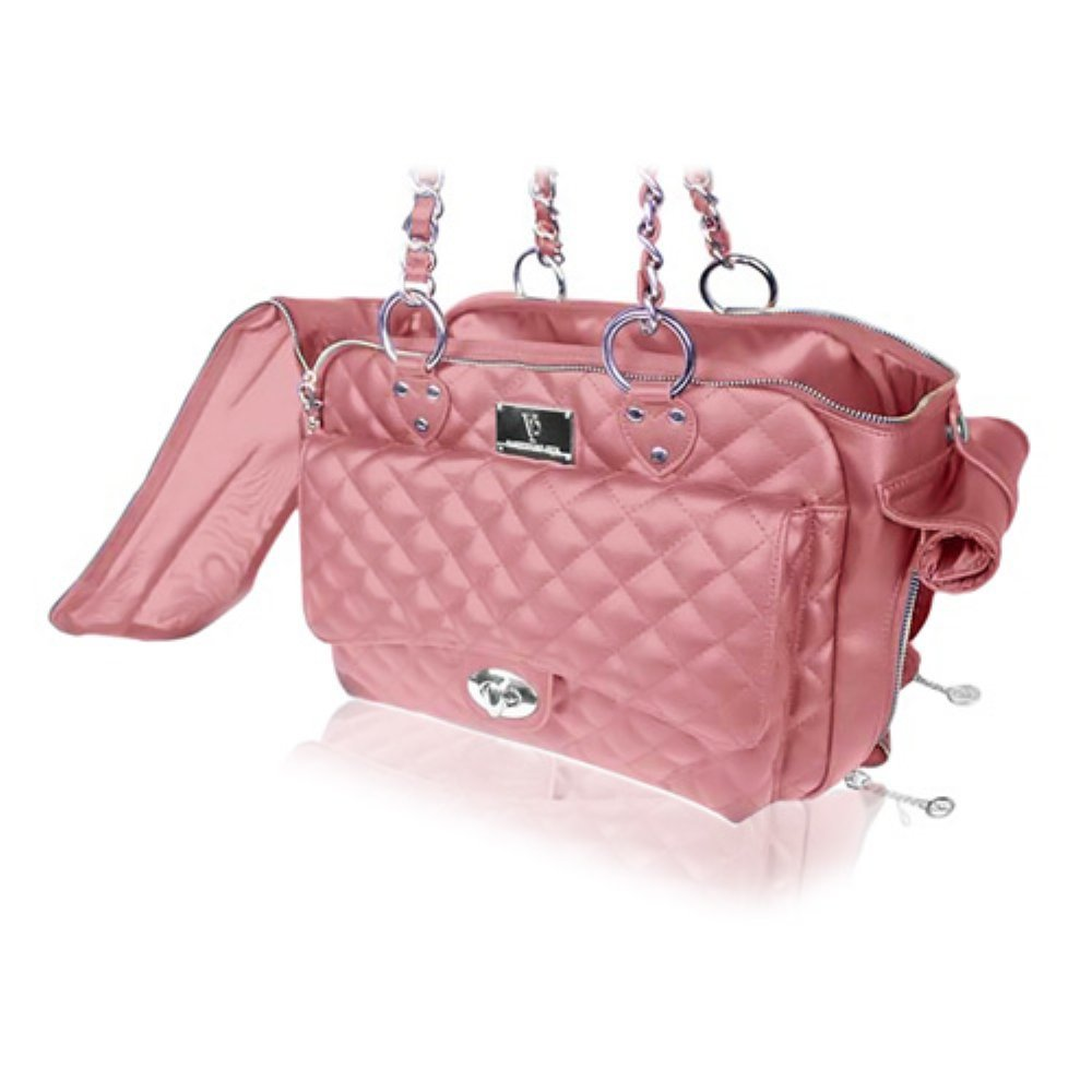 Vanderpump Quilted Luxury Pet Carrier