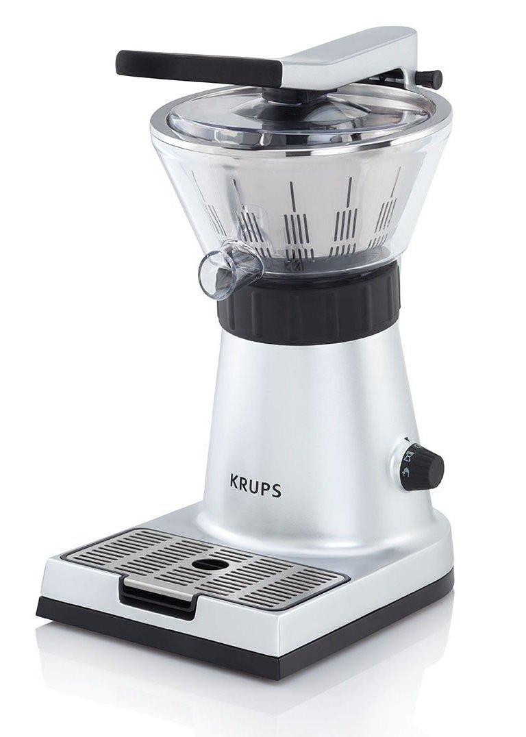 Krups Citrus Press ZX Exprimidor con tapa y clip para sujetar cítricos