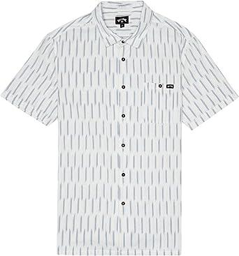BILLABONG™ Sundays Jacquard - Camisa de Manga Corta para Hombre S1SH09BIP0: Amazon.es: Ropa y accesorios