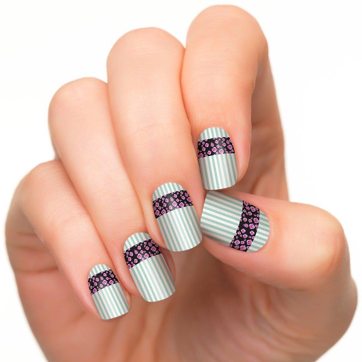 Incoco Nail Polish Strips, Nail Art, Vintage Charm