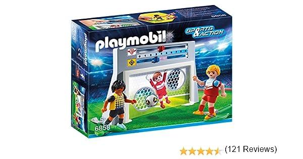 PLAYMOBIL - Juego de puntería con Marcador (68580): Amazon.es ...