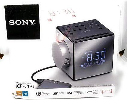Sony ICFC1PJ AM//FM Dual-Alarm Clock Radio Read Description