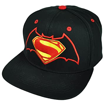 DC Comics Batman vs. Superman Mixed Logo Snapback Gorra De Béisbol ...