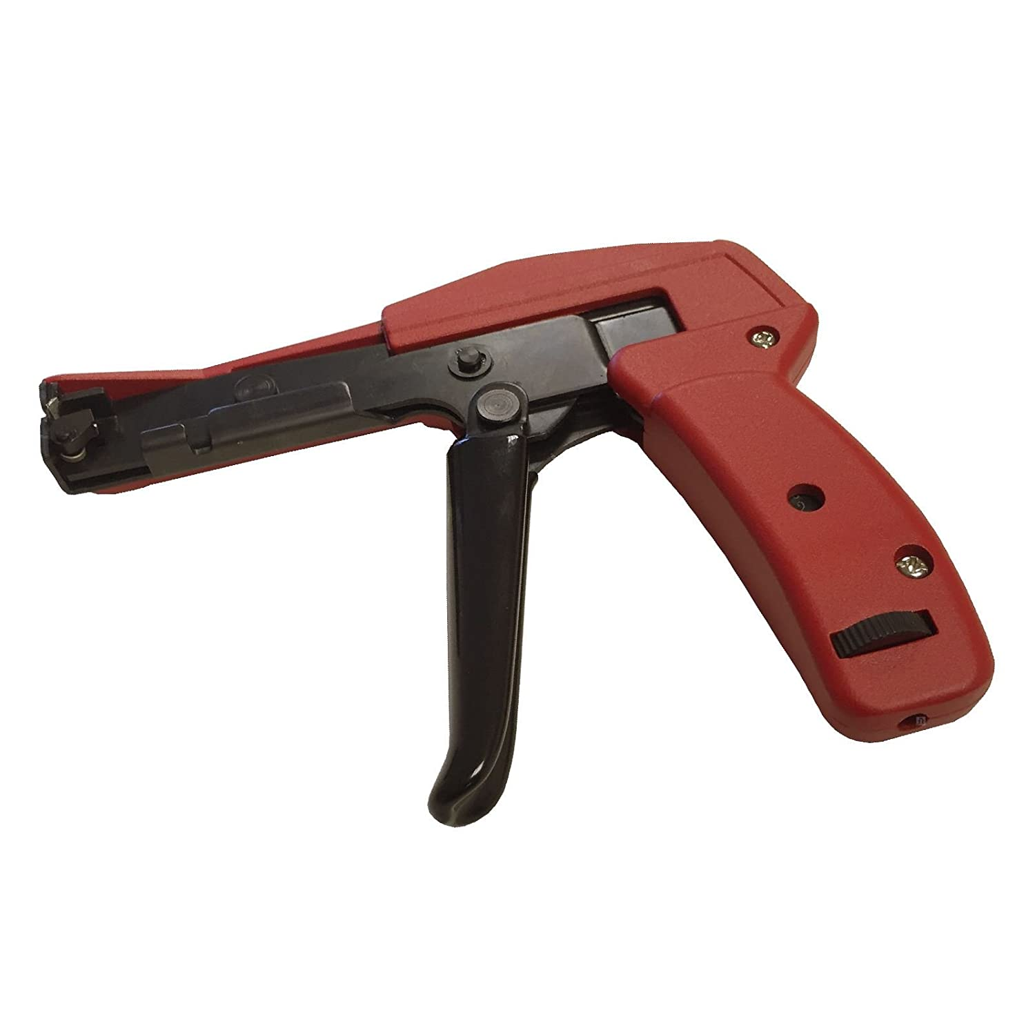 Zip Tie Gun >> Amazon Com Heavy Duty Cable Tie Gun Tensioner Cutter Tool For 2 4