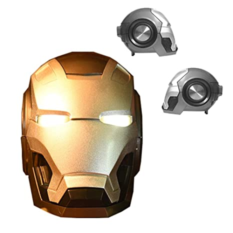 Retro Marvel Iron Man Altavoz Bluetooth 4.2, altavoz de ...