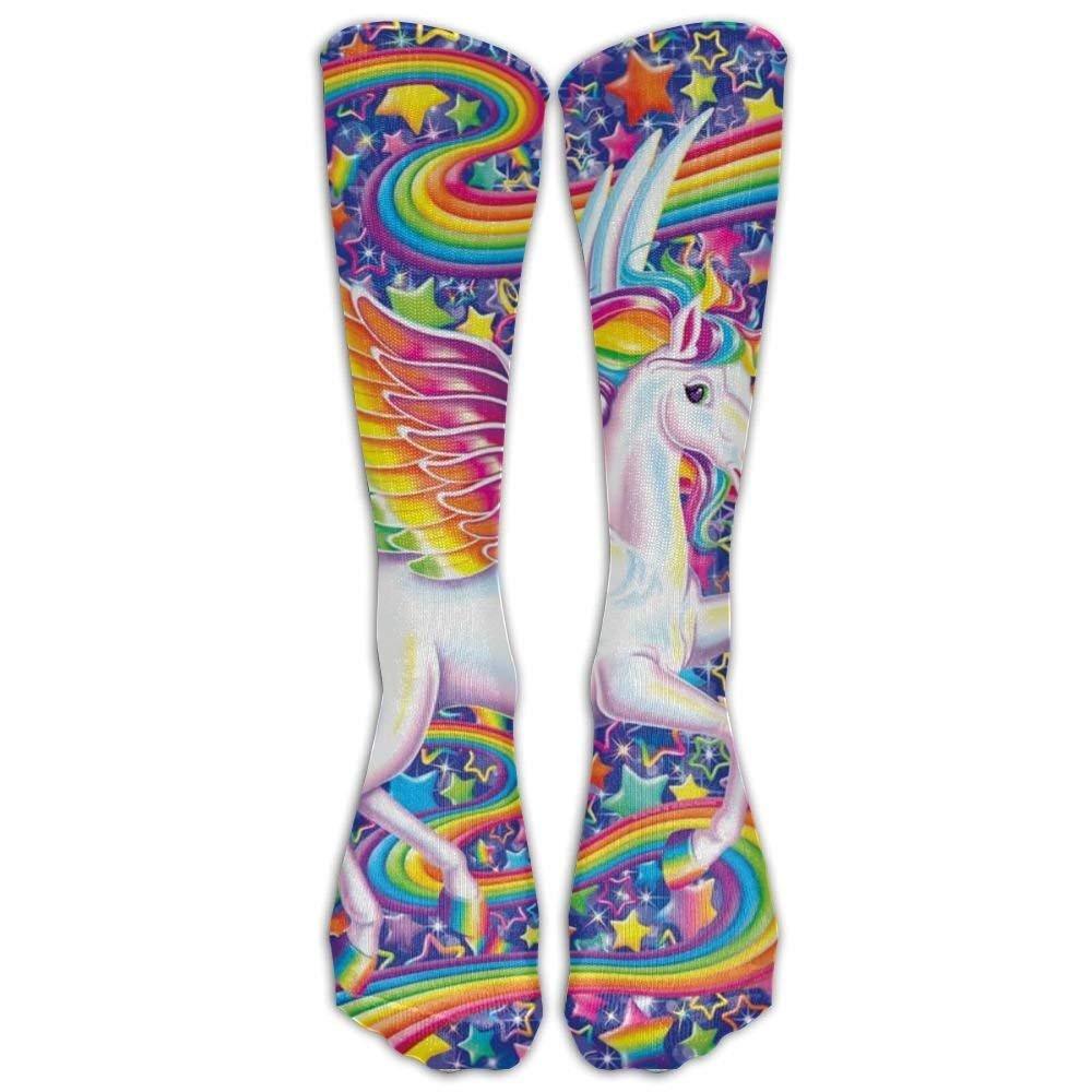 Christmas Unicorn Unisex Casual Pattern Crew Socks Dress Socks For Men And Women60cm