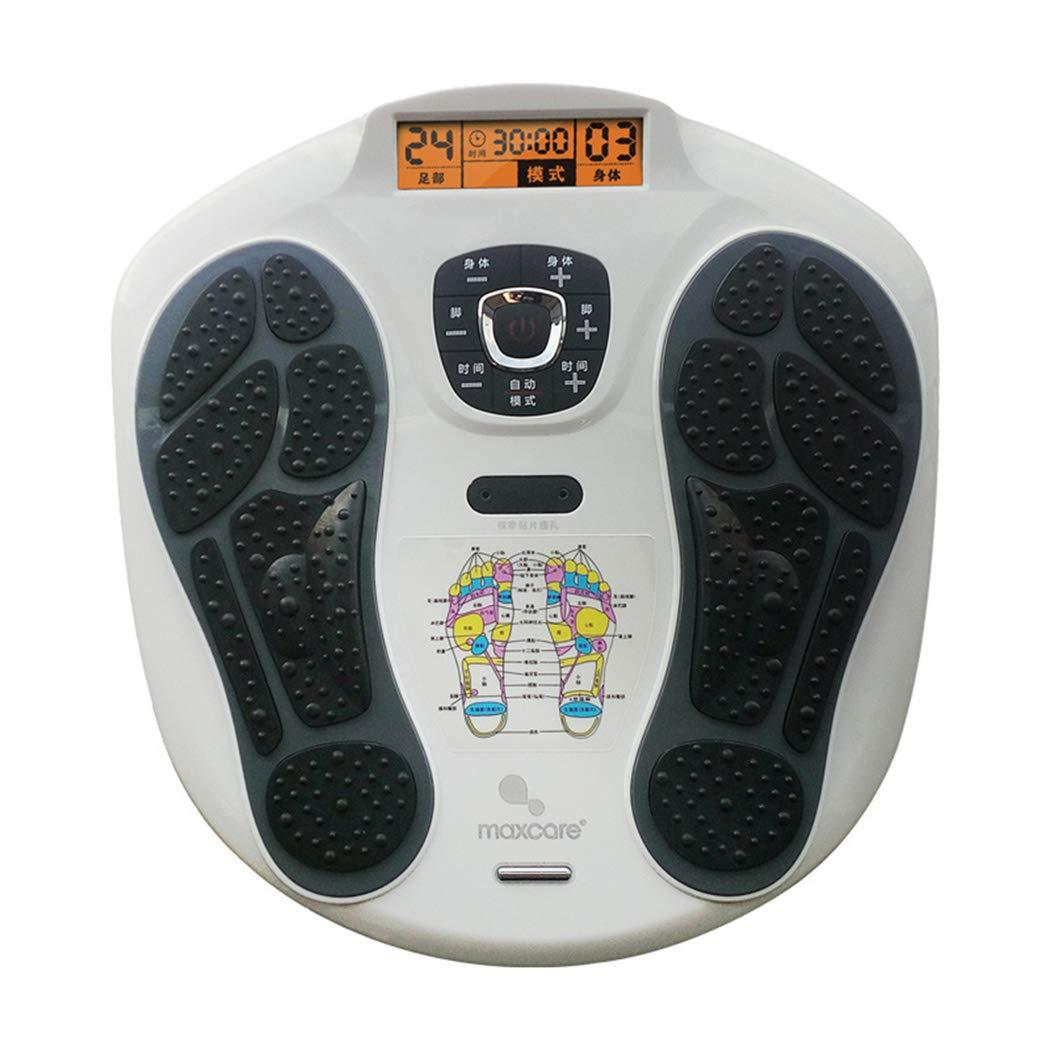 リモコン フットマッサージャー、LEDディスプレイスクリーン、フットリラクゼーションのための熱を備えたマシン、15のモードを備えた疲労緩和。 インテリジェント B07TYTQ4Z7 A
