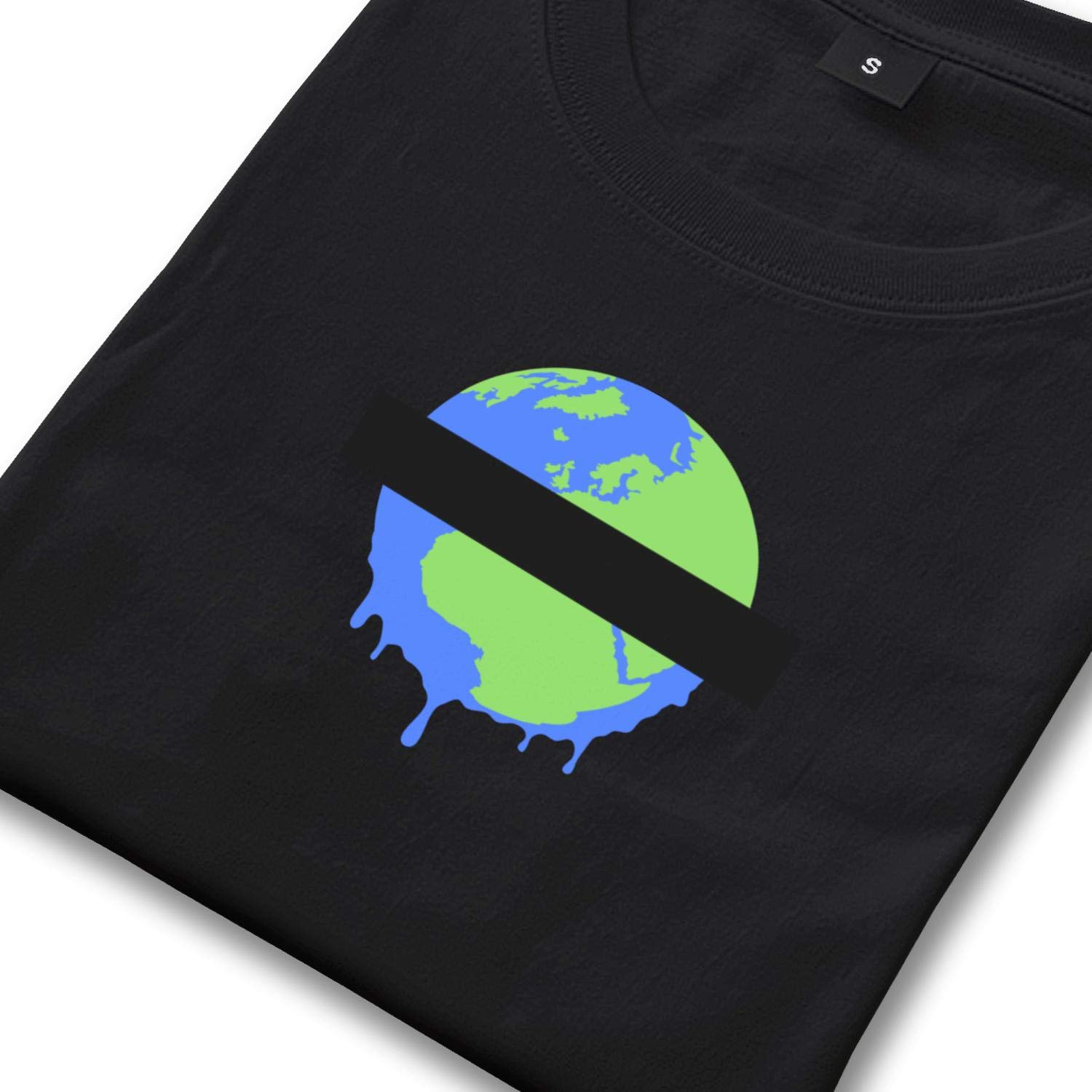 Milr Gile Mens Its Almost Earth Day Round Neck T-Shirts,Summer Casual Short Sleeve Tee