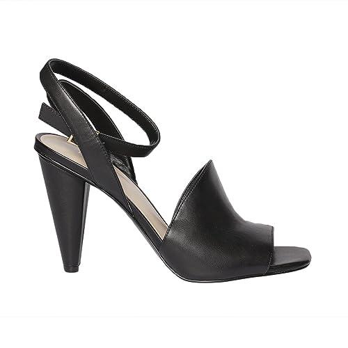 bd2f23150c9 Nine West Sandalias de Vestir Para Mujer Negro Size  38 EU  Amazon.es   Zapatos y complementos