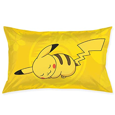 Amazon.com: Meirdre Fundas de almohada Sleepy Pikachu ...