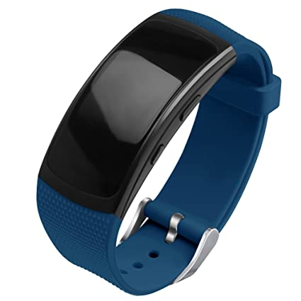 OenFoto Compatible Gear Fit2 Pro/Fit2 Band, Replacement Silicone Accessories Strap Samsung Gear Fit2 Pro SM-R365/Gear Fit2 SM-R360 Smartwatch-New ...