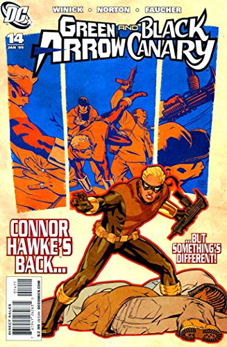- Green Arrow/Black Canary #14 VF ; DC comic book