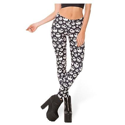 362151333ff77d Amazon.com: Ladies Jeggings Jack Skellington Leggings Women Gym Fitness  Skinny Pants: Sports & Outdoors