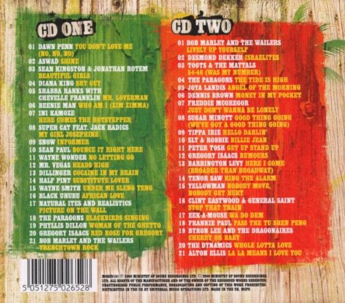 ministry of sound i love reggae