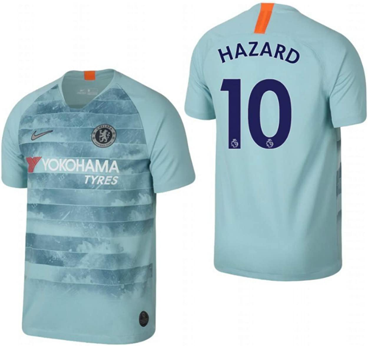ProApparels Hazard Jersey Chelsea Third 2018/2019 (Official Jersey & Printing) (XL)