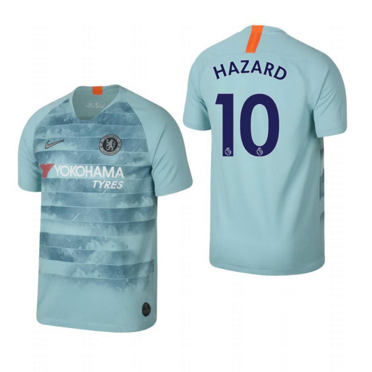 Amazon.com: ProApparels Hazard Jersey Chelsea Third 2018 ...