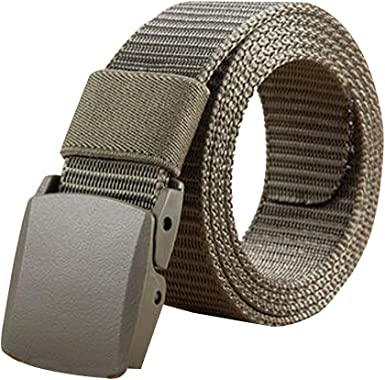 KINDOYO Canvas Belts Military Tactical Belt With Metal Buckle