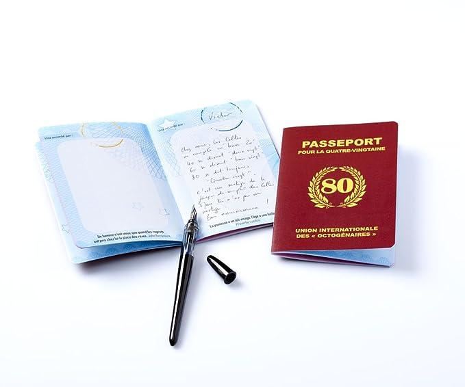 Gästebuch Reisepass Für Die Quatre Vingtaine