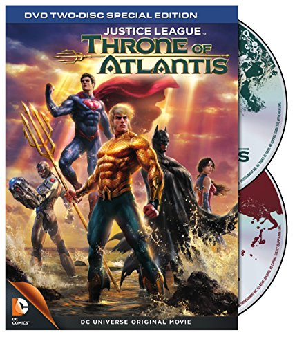 DVD : Justice League: Throne of Atlantis (Full Frame, Special Edition, Dolby, AC-3, Eco Amaray Case)