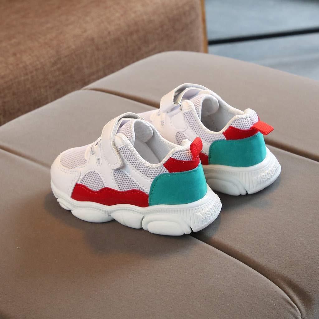 Baby Toddler Boys Girls Walking Shoes Sneakers 1-6 Years Old Little Kids Cute Cartoon Mesh Running Sport Shoes