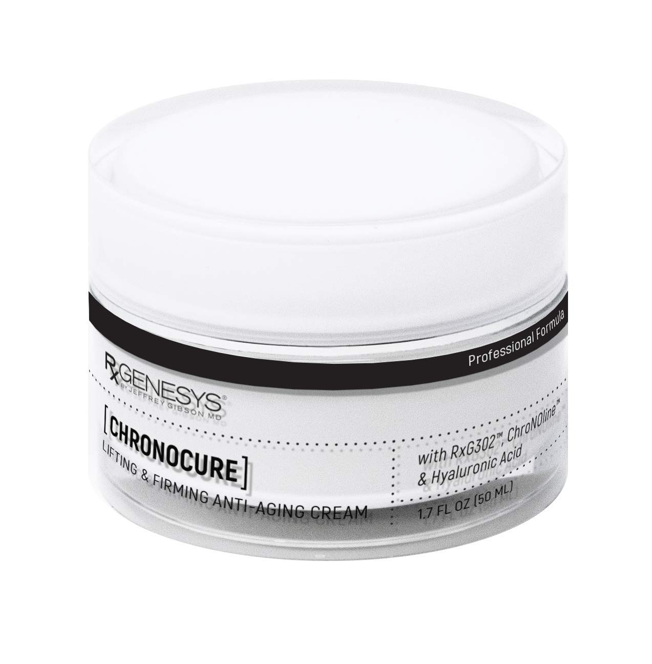 RxGenesys ChronoCure - Face & Neck Lifting & Firming Anti-aging Cream by RXGENESYS