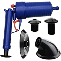 SavingPlus AIR Pump Drain Blaster Sink Plunger Bath Toilet Pipe Blockage Remover UNBLOCKER