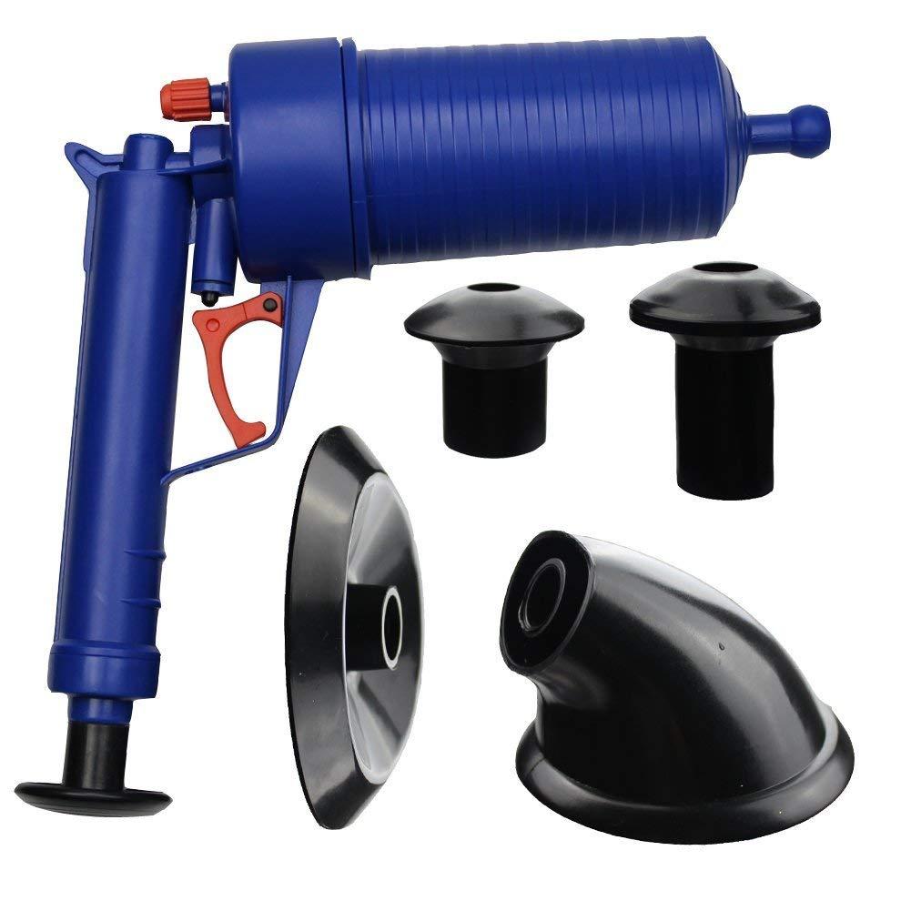 SavingPlus AIR Pump Drain Blaster Sink Plunger Bath Toilet Pipe Blockage Remover UNBLOCKER