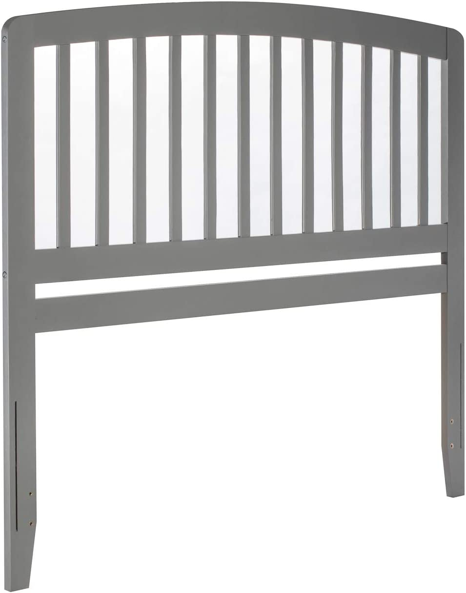 Atlantic Furniture AR288859 Richmond Headboard, King, Grey