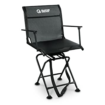 Guide Gear Big Boy Comfort Swivel Hunting Blind Chair With Armrests