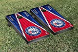 Philadelphia Sixers 76ers NBA Basketball Regulation Cornhole Game Set Triangle Weathered Version
