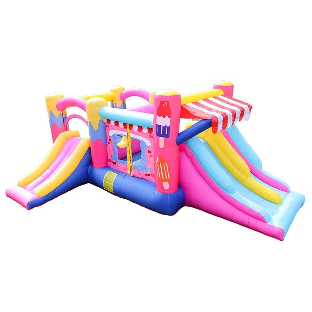 Daxiong Neue Aufblasbare Burg Kinder Trampolin EIS Springen Bett Indoor Und Outdoor Naughty Babe Home Party Spielen  520275205cm