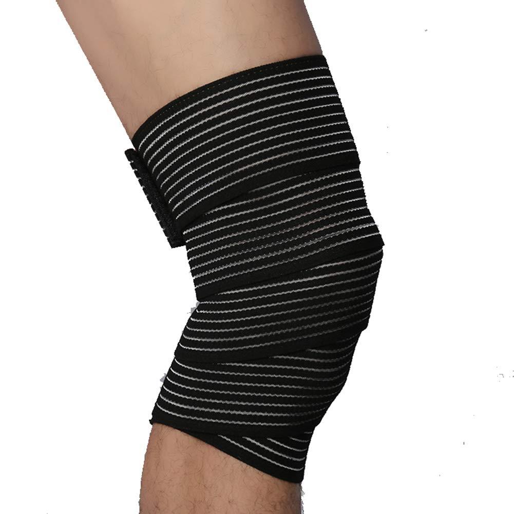 SYLXL Outdoor-Sport Knieschützer Ellenbogen Dual Use Bandagen Gurt Basketball Fußball Laufbekleidung, um Verletzungen zu Vermeiden
