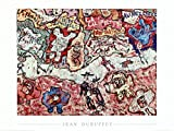 Calipette Art Print by Jean Dubuffet 32 x 24in