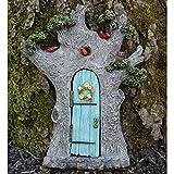 Enchanted Fairy Door that Opens: Tree with Birds, Fairy Garden Supply