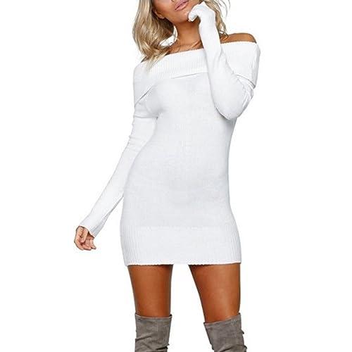 Sweater Dresses Plus Size Amazon