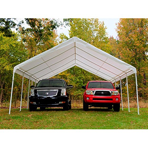 King Canopy 18 x 27 ft. Canopy Replacement Drawstring Carport Cover (King Canopy Carport compare prices)