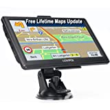 LOVPOI GPS Navigation for Car, GPS for Truck Drivers Commercial(7 Inch), 2021Map with Free Lifetime Updates, Auto RV GPS Navi