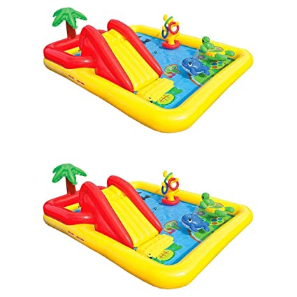 Amazon.com: Intex - Piscina hinchable para niños con centro ...