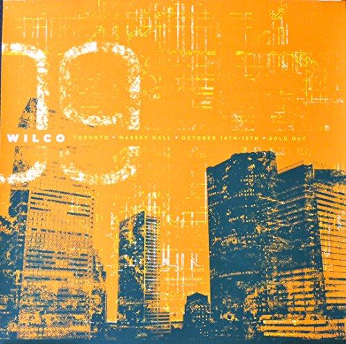 Wilco - Live at Massey Hall - Rare Tour Advertising Poster - Toronto