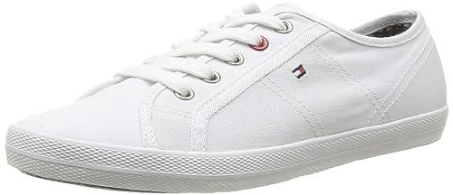 Tommy Hilfiger Victoria 2D - Zapatillas de deporte de tela para mujer: Amazon.es: Zapatos y complementos