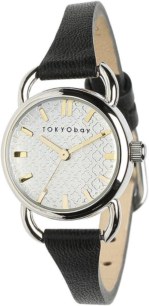 Tokyobay Frances Watch, Black: Amazon.co.uk: Watches